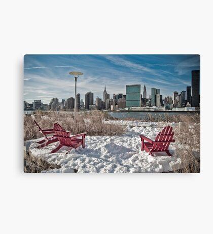 Gantry Plaza State Park  Canvas Print