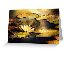 On Golden Pond Greeting Card