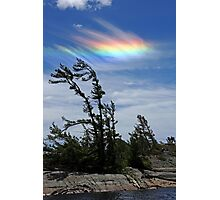 Ice Halo Photographic Print
