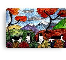 Tuxedo Valley Canvas Print