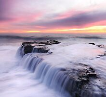 Candy Colored Sunset by Joshua  Cripps