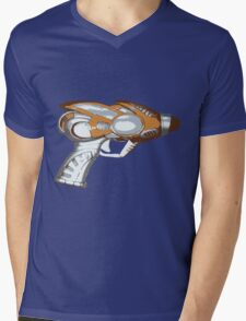 Raygun Pow Mens V-Neck T-Shirt