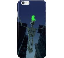 SKELETON GOES TO HEAVEN iPhone Case/Skin