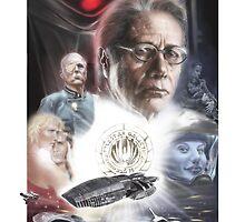 Battlestar Galactica 2004 by Shane Kirshenblatt