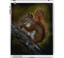 Red Squirrel - Photoshop Manipulation iPad Case/Skin