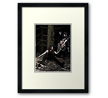 Casual killing #1 Framed Print