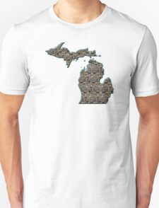 Michigan Petoskey Stone  T-Shirt