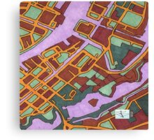 Copenhagen, Denmark Canvas Print