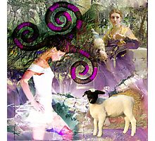 Homage to fiber arts Photographic Print