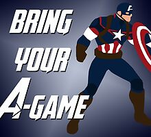 Captain America - Bring Your A-Game by alannamode
