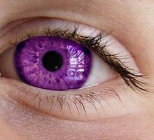 purple eye by Lildudette016