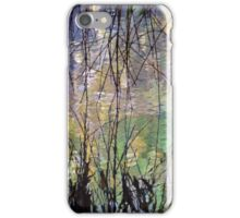 Blue Green Willow Water iPhone Case/Skin