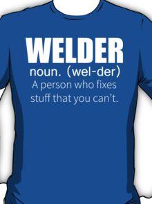 Funny Welder Definition T Shirt T-Shirt