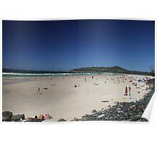 Beach Byron Bay Poster