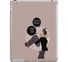Hurt but concious iPad Case/Skin