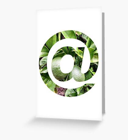 @ lemon Greeting Card