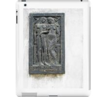 Querido Paco, Memorial Plaque from the Recoleta Cemetery iPad Case/Skin