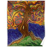 Pastel tree of life Poster