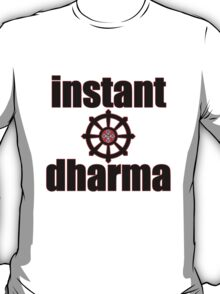 instant dharma wheel of life T-Shirt