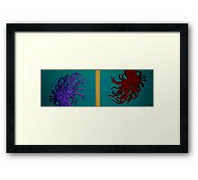 Anemone In The Drift Framed Print