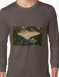Tearful Polypore - Inonotus Radiatus - Bracket Fungus Long Sleeve T-Shirt