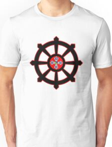 dharma wheel of life Unisex T-Shirt