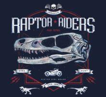 Jurassic World Raptor Riders Biker Insignia One Piece - Short Sleeve