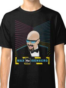 Heisenberg / Max Headroom Mashup Classic T-Shirt