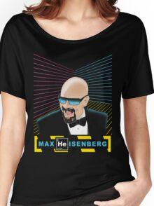 Heisenberg / Max Headroom Mashup Women's Relaxed Fit T-Shirt