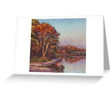 Early morning, Lake Cathie Greeting Card