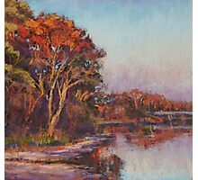 Early morning, Lake Cathie Photographic Print