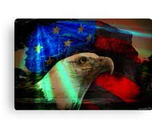 Patriot Memory Canvas Print