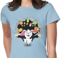 TiCkY!  The Crazy Easter Bunny Womens Fitted T-Shirt