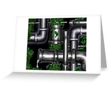 """Vine Ripe Pipes"" Greeting Card"