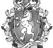 Unicorn Coat Of Arms Heraldry by helloheath