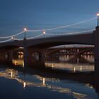 """ Tempe Town Bridge"" by Diana Graves Photography"