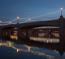 """ Tempe Town Bridge"" by K D Graves Photography"