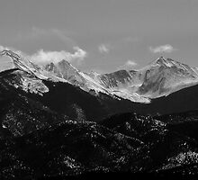 Colorado Afternoon View by Carl M. Moore