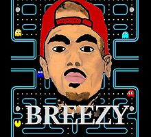 BREEZY x Pac Man by FHoliday