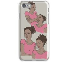 Pink survivor - Rochelle iPhone Case/Skin