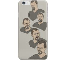 Grey survivor - Francis iPhone Case/Skin