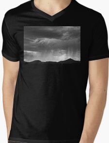 Desert Storm V Mens V-Neck T-Shirt