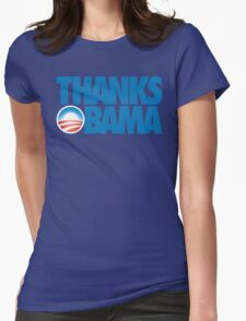 Thanks Obama Womens Fitted T-Shirt