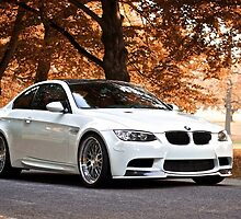 White BMW M3 Fall Edition by EwenDC5