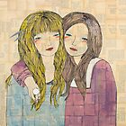Two Best Friends Portrait by Ali J