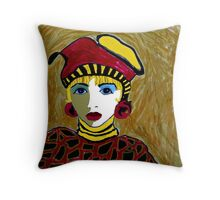 Maurine the Queen Throw Pillow