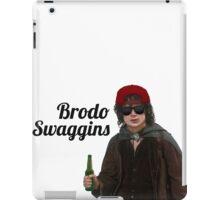 Brodo Swaggins iPad Case/Skin