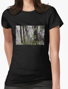 Watery Reflections Womens Fitted T-Shirt