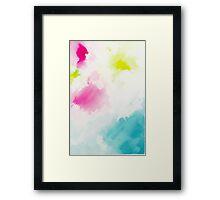 Colour Me Happy Framed Print
