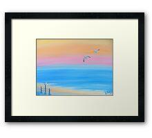 """""""Morning Stroll"""" Framed Print"""